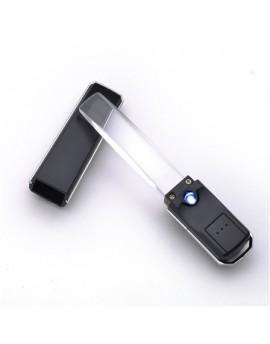 【富樂小舖】L'elan 長條型觸控式LED燈放大鏡