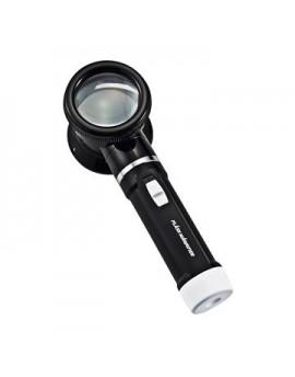 【富樂小舖】5倍率LED燈放大鏡( 直徑:50mm )