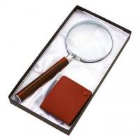 【富樂小舖】日本製精緻放大鏡組合禮盒