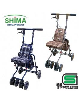 【富樂小舖】SHIMA 輕便型銀髮族休閒散步車