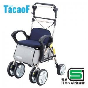 【富樂小舖】Tacaof 幸和購物散步車ST003-L(深藍)