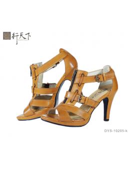【富樂小舖】德行天下 羅馬鞋-卡其DYS102-05-k