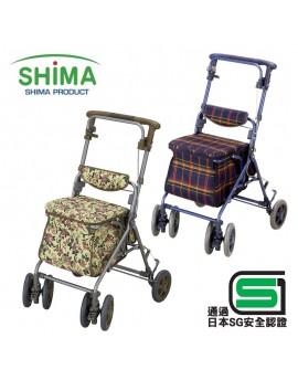 【富樂小舖】SHIMA 銀髮族購物散步車