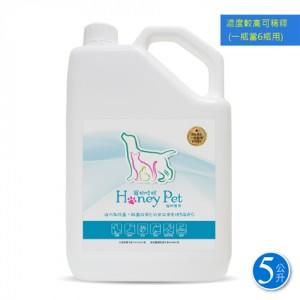 【富樂小舖】寵物哈妮除臭抗菌濃縮補充液 5L