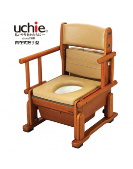 【富樂小舖】日本進口 Uchie  輕巧便盆椅